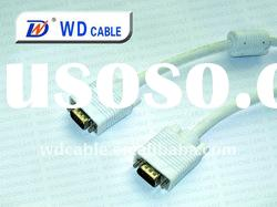 WD cable round flat vga splitter cable