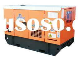 Water cooled Soundproof 15kw Diesel Generator set powered by Perkins engine