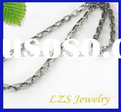 Wholesale popular no rust stainless steel quality high fashion necklaces (0087)