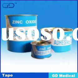 Zinc Oxide Adhesive Tape, Model GZT-C, Tinplate Spool Package, Various Size, CE Approved
