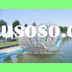 big colorful inflatable water roller/bubble roller