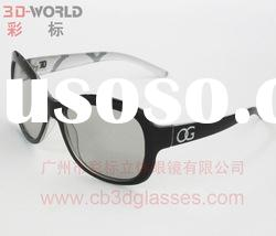 circular/ linear-polarized 3D glasses