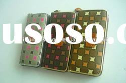 fashion printed PU lady wallet&new arrival wallets