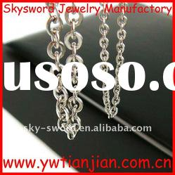 fashion stainless steel necklaces(SSN-007)
