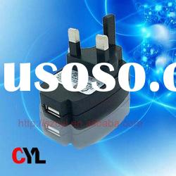 for UK usb travel charger