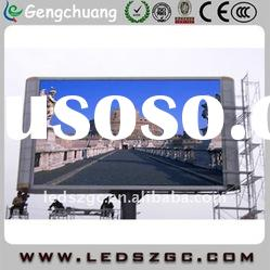full color outdoor advertising led screen with high brightness