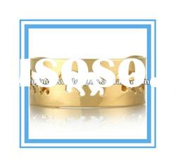 gold plated fashion blank bangles wholesale