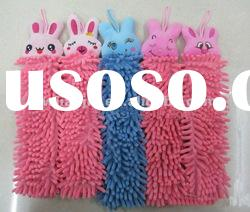 hand towel in cute design/chenille duster DT0031