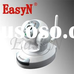 indoor night vision WIFI IP camera with two ways audio