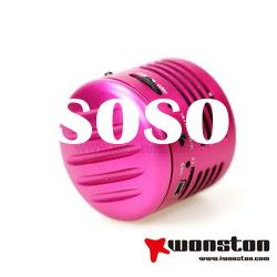 mini vibration stereo speaker lamp for computer mp3 CD player ipad laptop home theater