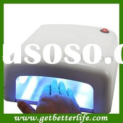 nail art UV lamp - UV Gel nail lamp White color,Induction with CE