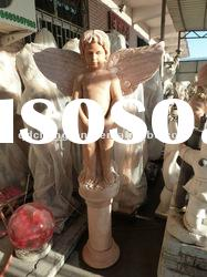 nature marble angel water fountain