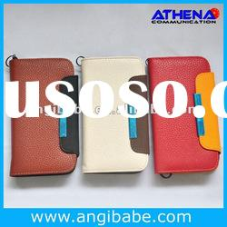 newest Wallet style flip leather with crack design protective case for Samsung Galaxy S3 i9300