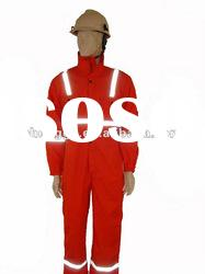 nomex IIIA coverall with flame retardant reflective tape protective clothing