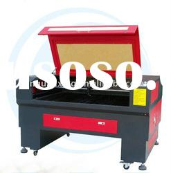rubber laser cutting machine with up-down working table