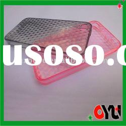 water printing transparent case for iphone 4G case