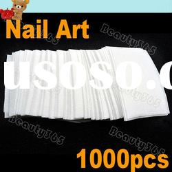 1000 X Nail Polish Wipes Cotton Pad Paper Set Acrylic UV Gel Tips Remover Cleanser