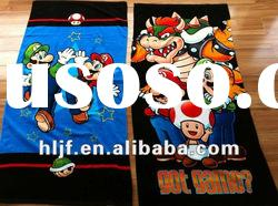 100%cotton Mario Bath Towel