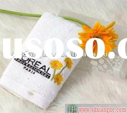 100% cotton embroidery hotel towel /bath towel wiht logo embroidery