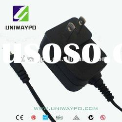 12W adaptor 12v 1000ma power adapter , electrical insulation tube RoHS/UL/PSE