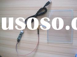 """15.6"""" 5wire resistive type for medical equipment with extension cable touch screen."""