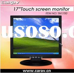 """17"""" 4:3 /16:9 Ratio VGA Touch Screen Monitor with USB Touch Interface"""