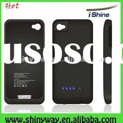 1900Amh External power backup battery for iphone4/4s, case with battery