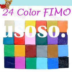 1 PC Colorful Polymer Clay Blocks 3D Nail Art Sticker New