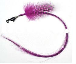 2011 Hot Selling Feather hair Extension with Clip