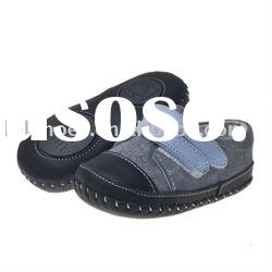 2011 Hot selling Genuine Leather baby shoes for Little Gentleman LBL-BB27111-GR