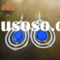 2012 Fashion newest alloy earrings, fashion jewelry