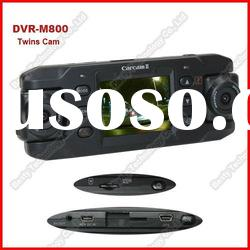 2012 Hot Selling Dual Cameras Car DVR with GPS 2.0 inch TFT LCD