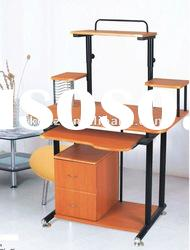 2012 NEW STYLE High Quality Tempered Wooden computer desk TT-1050