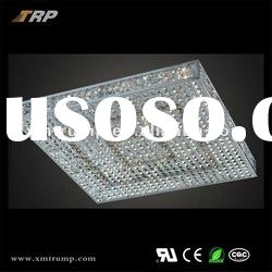 2012 NEW modern design square crystal ceiling lamp