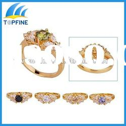 2012 fashion gold ring Jewelry wholesale