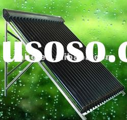 2012 hot sale copper heat pipe thermal solar collector with SABS,Keymark,SRCC