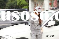 2012 hot sell woman's clothing vogue jogging trackit suit