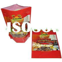 2012 newly Stand up colored zip lock plastic bags for food