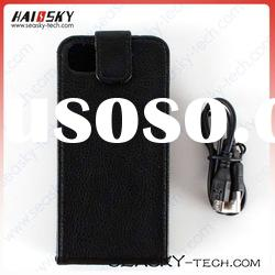 2012 the newest PU leather case with antenna for iphone