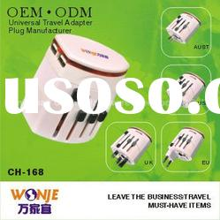 2012 worldwide electricals double usb travel adapter