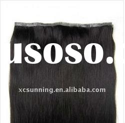 """20inches Double Sided Tape Hair Extension 36"""" wide,55g #1B_Natural Black"""
