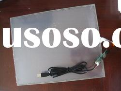 """22"""" 5 wire resistive for kiosk usb touch screen panel."""