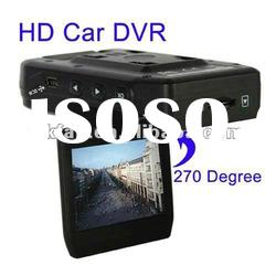 2.5 inch LCD Screen HD Car DVR with Night Vision&Lens Rotating