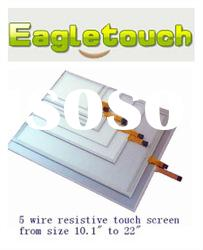 """5 wire resistive 15"""" usb powered touch screen."""