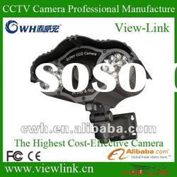 600tvl ir waterproof cctv color ccd camera with 70m distance