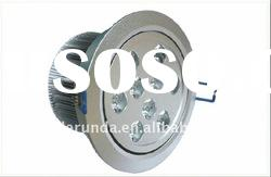 9w high power led downlight housing