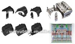 ABS plastic electronics part for multifunction travel adaptor
