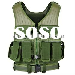 Army Tactical Vest with Nylon SGS and ISO standard nylon vest manufacturer