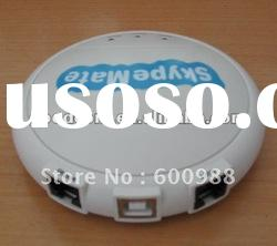 Auto run USB VOIP/PSTN Gateway,can preset your sip account.Two lines for calling