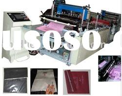 Automatic nonwoven zipper bag making machine